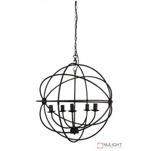 Columbus 5Lt 65Cm Pendant Antique Rust ORI