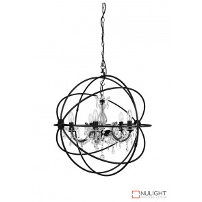 Columbus 5Lt Bling Pendant Antique Rust ORI
