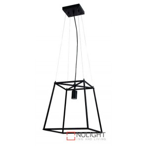 James Tubular Pendant Matt Black ORI