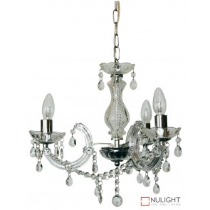 Marie Therese 3Lt Pend Clear And Chrome ORI