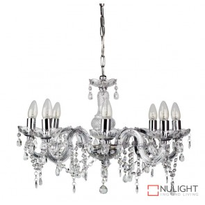 Marie Therese 8Lt Pend Clear And Chrome ORI