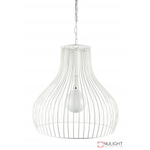 Gabby Wire Single Pendant White ORI