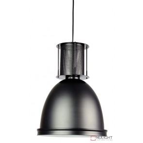 Bay 28 Industrial Single Pendant Black ORI