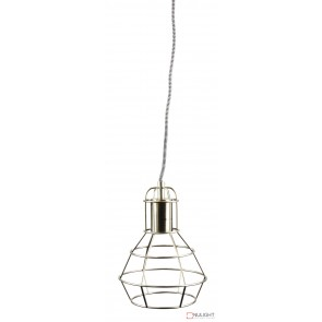 Work Single Pendant Brushed Chrome ORI