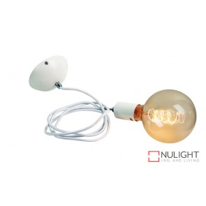 Pop Single Pendant Suspension White ORI