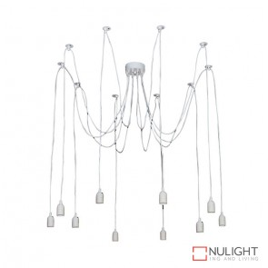 Philly 10 Light White Suspension Only ORI