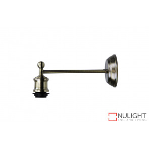 Antique Brass Wall Light ORI