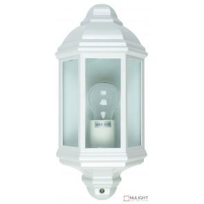 Fenchurch Flush Wall Light White ORI