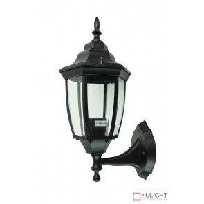 Highgate Up Ext Wall Light Black ORI