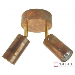Comma 2Lt Adj Gu10 Spot Copper ORI