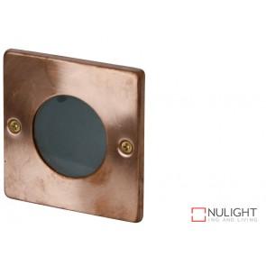 Rocco - Square Ip44 Recessed Copper ORI