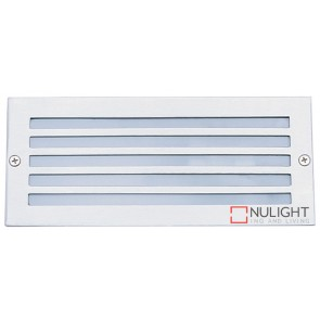 Brick Light 316 Stainless Louvred Face ORI