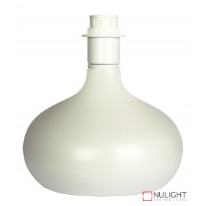 Milo White Lamp Base Only ORI