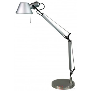 Forma Adjustable Desk Lamp Silver ORI