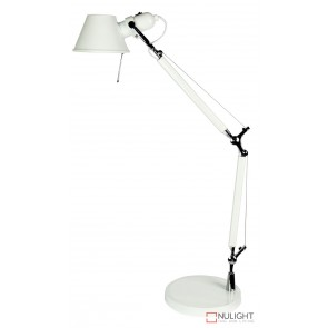 Forma Adjustable Desk Lamp White ORI