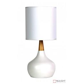 Pod Table Lamp White Complete ORI