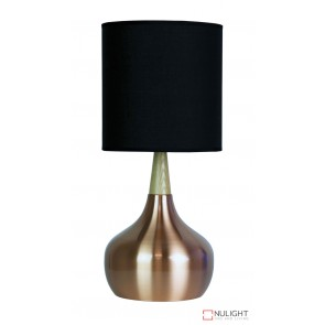 Pod Touch Lamp Brushed Copper Complete ORI
