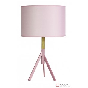 Micky Table Lamp Complete Blush Pink ORI