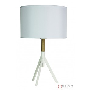 Micky Table Lamp Complete Antique White ORI