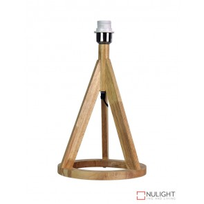 Stabb Table Timber Tripod Lamp Base E27 ORI