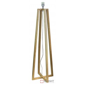 Malmo Wooden Floor Lamp Base ORI