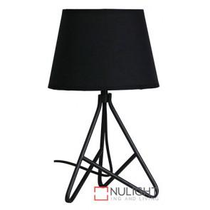 Nolita Table Lamp And Shade Black ORI