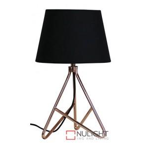 Nolita Table Lamp And Shade Copper ORI