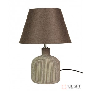 Terra Small Table Lamp Base And Shade ORI