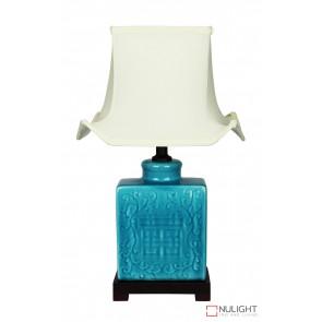 Mingyu Chinese Ceramic Table Lamp With Shade ORI