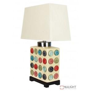 Yingtai Ceramic Table Lamp With Shade ORI