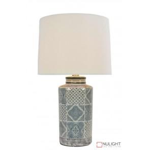 Biyu Chinese Ceramic Lamp With Shade ORI