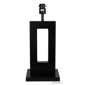 Habitat Table Lamp Base Only Dark Stain New ORI