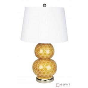 Bol Orange Decal Complete Table Lamp ORI