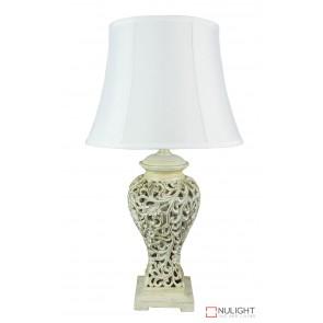 Devana Floral Cut Complete Table Lamp ORI