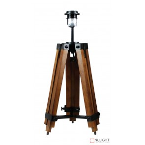 Galileo Tripod Table Lamp Base Only Brown ORI