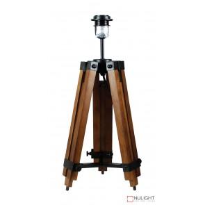 Galileo Tripod Table Lamp Base Only Brown ORI