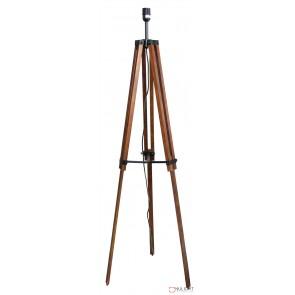 Galileo Tripod Floor Lamp Base Only Brown ORI