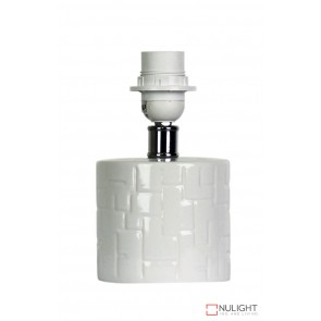 Chev Table Lamp Base ORI