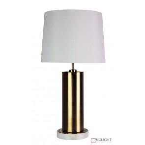 Savona Antique Brass Complete Table Lamp ORI