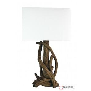 Sedona Twisted Complete Table Lamp ORI