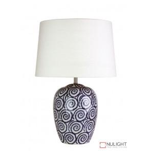 Pippi Swirled Complete Table Lamp ORI