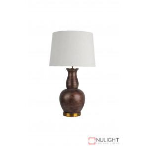 Oriel Tangier Table Lamp E27 Painted Bronze ORI