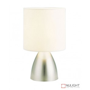 Nikki Touch Lamp Brushed Chrome ORI