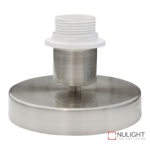 Alix Table Lamp Base Only Brushed Chrome ORI