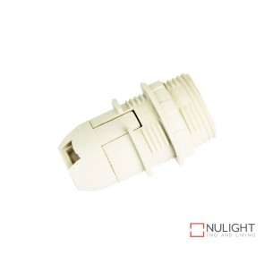 Lampholder - White Ses-E14 10Mm Extthred ORI