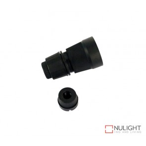 Lampholder - Black Bc-B22 10Mm ORI