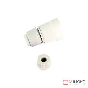 Lampholder - White Bc-B22 10Mm ORI