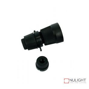 Lampholder - Black Bc-B22 10Mm Switched ORI