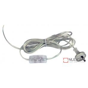 Flex Clear Moulded Plug And Switch Dbins ORI