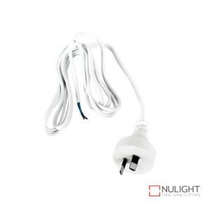 Flex Moulded Plugtop White 2M Dbins ORI